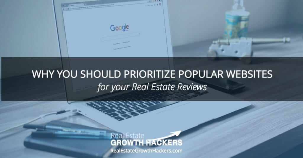 Blog Image- Why You Should Prioritize Popular Websites for your Real Estate Reviews